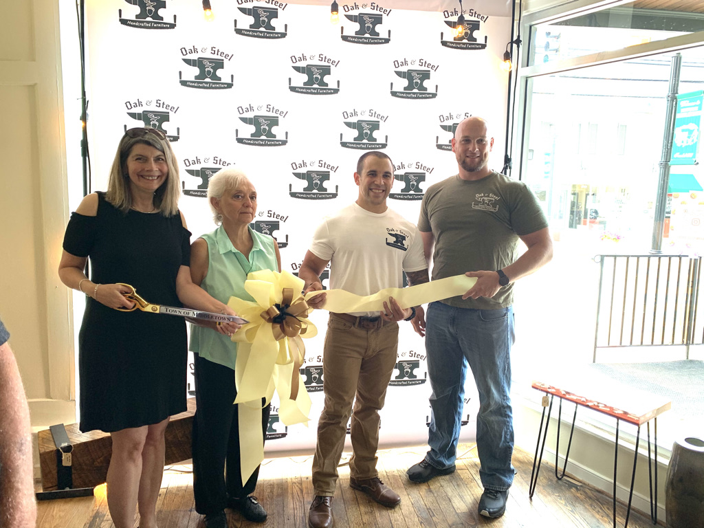 Oak and Steel Grand Opening