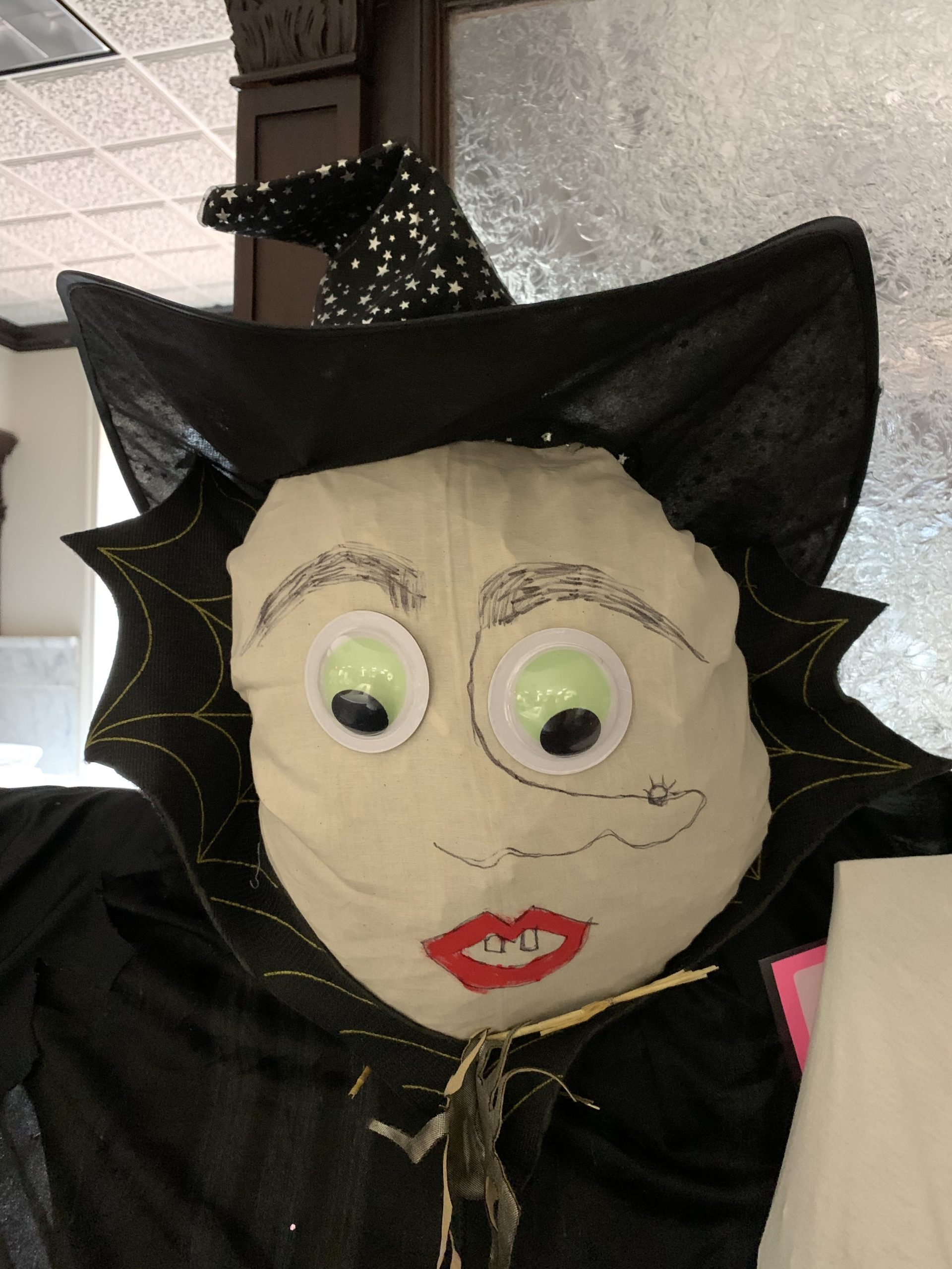 Witch Scarecrow on Main Street